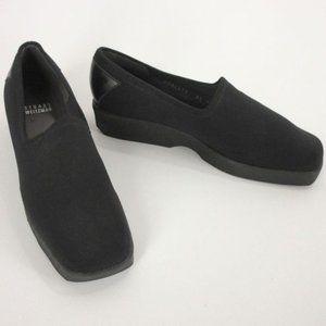 Stuart Weitzman Square Toe Loafers, 8.5